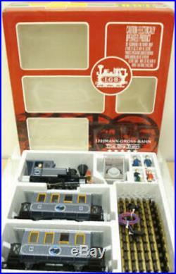 LGB 22301 Gray US Passenger Train Set EX/Box