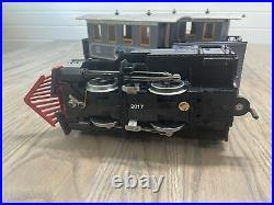 LGB 22301 Lake George & Boulder G Gauge Steam Passenger Starter Train Set Lights