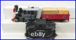 LGB 22401 Goods G Gauge Steam Train Set LN/Box