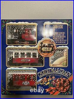 LGB 22540 The Christmas Train Starter Set G Scale VINTAGE (1992) & RARE