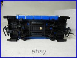 LGB 23301 US PASSENGER TRAIN SET 1990S G SCALE ENGINE With 2 CARS CONTROL TRACKS