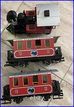 LGB 25301 Lake George & Boulder G Gauge Steam Passenger Train Set/Box
