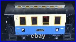 LGB #2 G-Scale 3-Car Train Set with Sound Coca Cola Transformer Figures