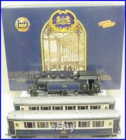 LGB 70685 Orient Express Deluxe Steam Passenger Train Set LN/Box