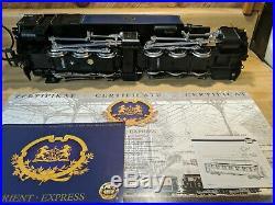 LGB 70685 Orient Express Deluxe Steam Passenger Train Set RARE GOOD SHAPE