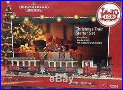 LGB 72304 G Scale Christmas Train Starter Set