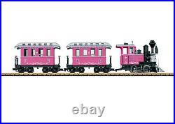 LGB 72306 Pink G Gauge Steam Starter Train Set