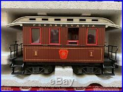 LGB 72323 Pennsylvania Passenger Train Set With Light And Smoke
