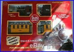 LGB 72324 Rio Grande Steam Passenger Train Set Upgraded with Steam Horn Sound