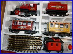 LGB 72325 Christmas Santa Claus Passenger Train Set. + Track & Transformer O/Box