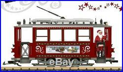 LGB 72351 Christmas Street Car Set NEW