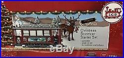 LGB 72351 G Christmas Trolley Starter Train Set
