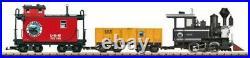 LGB 72426 Lake George & Boulder G Gauge Steam Freight Starter Train Set