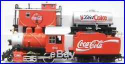 LGB 72428 G Scale Coca-Cola Starter Train Set NIB