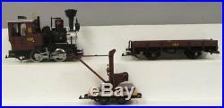 LGB 72429 Crane/Auto Car Train Set/Box