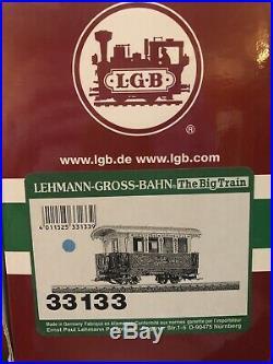 LGB 72534 Christmas Santa Train Set Locomotive Set RARE Find