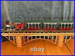 LGB 72560 Christmas Train Set & EXTRA CAR! Original Box G Scale