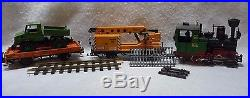 LGB 73401 Complete Starter Set / Freight Train WithLights & Smoke LN