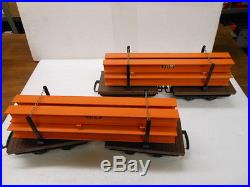 LGB 73968 The Big Train Freight Set with I-Beam Load 30 Anniversary Set