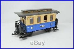 LGB Beatties Exclusive G Gauge Steam Train Set Engine and Two Coaches