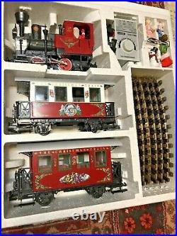 LGB CHRISTMAS TRAIN SET #20540 IN BOX The Big Train