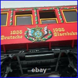 LGB Christmas 150 Anniversary Jahre Deutsche Eisenbahn Nürnberg Train Set Track