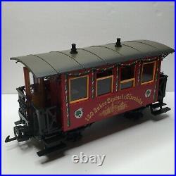LGB Christmas 150 Anniversary Jahre Deutsche Gisenbahn Nurnberg Train Set Track