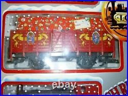 LGB Christmas Passenger G SCALE 72554 TRAIN SET NEW IN BOX -COMPLETE 2000