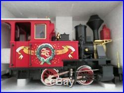 LGB Christmas Train G scale 72534 passenger starter set in Original Box Holiday