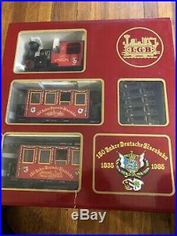 LGB Christmas Train Set 72555 Original box- Runs Nicely