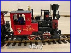 LGB Christmas Train Set Runs Nicely