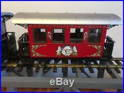 LGB Christmas Train Set with SantaG Scale German Train #22540