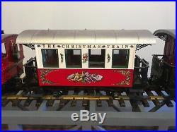 LGB Christmas Train Set with Santa G Scale German Train #22540