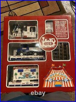 LGB Circus Set 21988 Lehmann The Big Train Model German Made G Scale Vintage