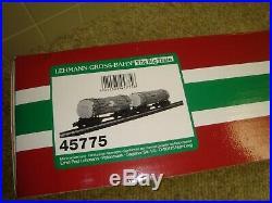LGB Disconnect Logging Truck Train Set G scale 45775 unused new in original box