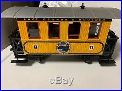 LGB G Scale #72312 LG&B Lake George & Boulder Passenger Train Set