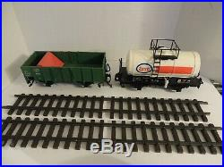LGB G Scale 72402 Work Train Starter set plus more. PRICE REDUCTION