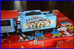 LGB G Scale 72427 Peanuts Model Train Starter Set, Rare, Excellent / New Cond