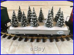 LGB G Scale #72488 Frontgate Coast To Coast Christmas Steam Train Starter Set