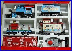 LGB G Scale Train Peanuts Snoopy Baseball Complete Set 72427