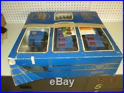 LGB G gauge The Blue Train Set Boxed