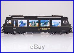 LGB Golden Pass Train Set with Locomotive Ge 4/4 Item 27425 and Two Car
