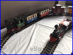 LGB LEHMANN THE BIG TRAIN PASSENGER SET#20301, plus Train Set, 38Tracks, controller