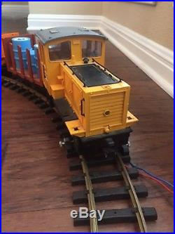 LGB Lehmann 2090 G Scale Train Car Set D10 Diesel Locomotive Vtg West Germany