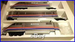 LGB Lehmann 91950 G Scale Train Model Amtrak High Speed Train Set in Box