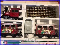 LGB Lehmann 94775 North Pole Express Rudolph Train Set in Original Box