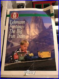 LGB Lehmann 94775 North Pole Express Rudolph Train Set in Original Box-Nice