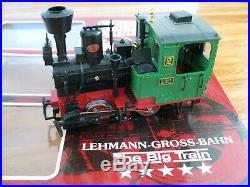 LGB Lehmann G Scale Passenger Train Set with Stanz Locomotive #20301 EX