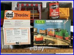 LGB Lehmann Gross G Scale Starter Train Set Track 20601 20801B Near Mint in Box