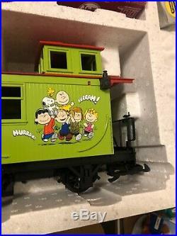 LGB Peanuts Complete Starter Train Set (Rare)